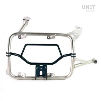 Adapter für U000-Schnellkupplung an Alu-Taschenrahmen