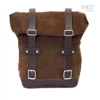 Seitentasche aus Leder