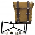 Canvas-Seitentasche + Double NineT symmetrischer Rahmen