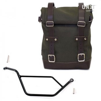 Canvas Seitentasche + Bmw R 850R / 1100R / 1150R Rahmen