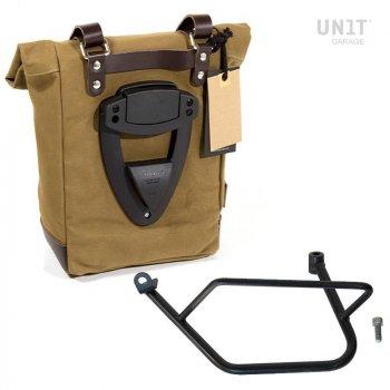 Canvas-Seitentasche + Kawasaki Z900RS linker-Rahmen