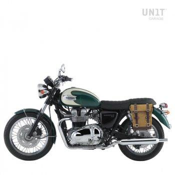 Canvas-Seitentasche + Triumph Bonneville T100 (2001-2016)