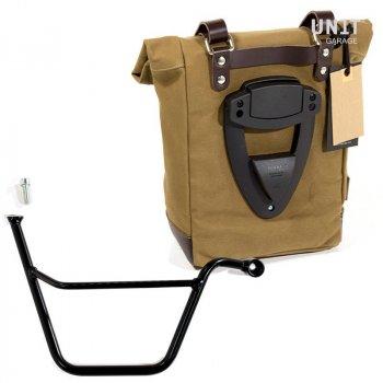 Canvas-Seitentasche + Triumph T100 Bonneville-Rahmen DX
