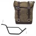 Seitentasche aus Leder + Rahmen BMW R 850R-1100R-1150R