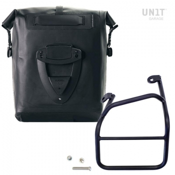 Khali TPU Seitentasche + Ducati Scrambler 1100 Linker Rahmen