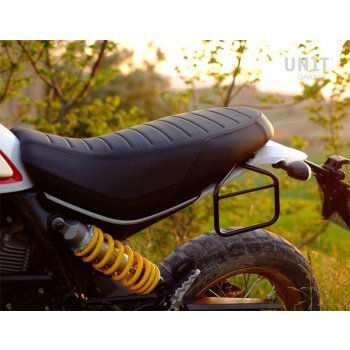 Seitentasche + Ducati Desert Sled Rahmen