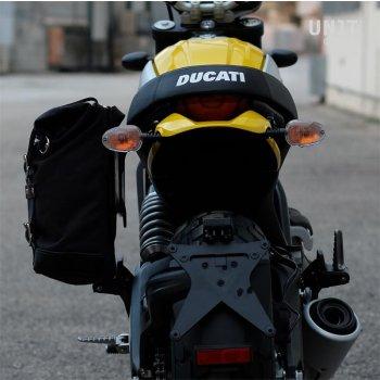 Seitentasche + Ducati Scrambler Rahmen