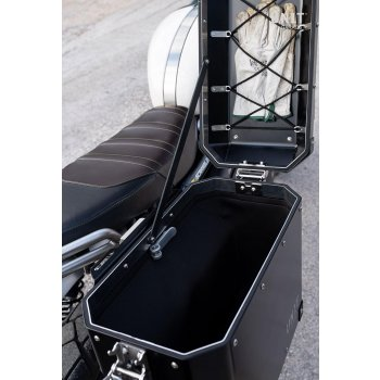 Unitgarage Seitentasche aus Aluminium 37L
