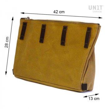 Fezzan Canvas Messenger Bag