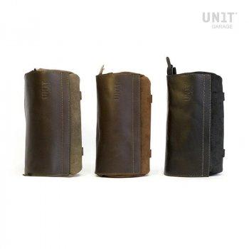 Atacama Canvas Tasche mit Lederüberzug