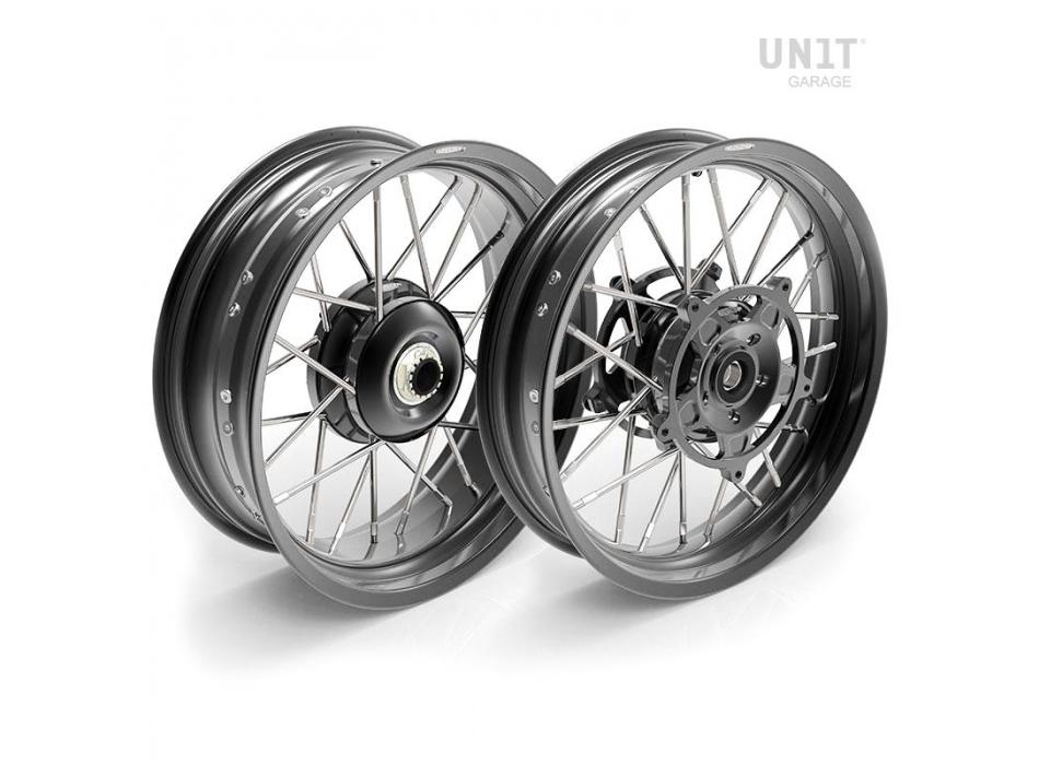 Paar Speichenräder NineT Racer & Pure 24M9