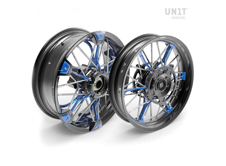 Paar Speichenräder NineT Racer & Pure 24M9 SX-Spider tubeless