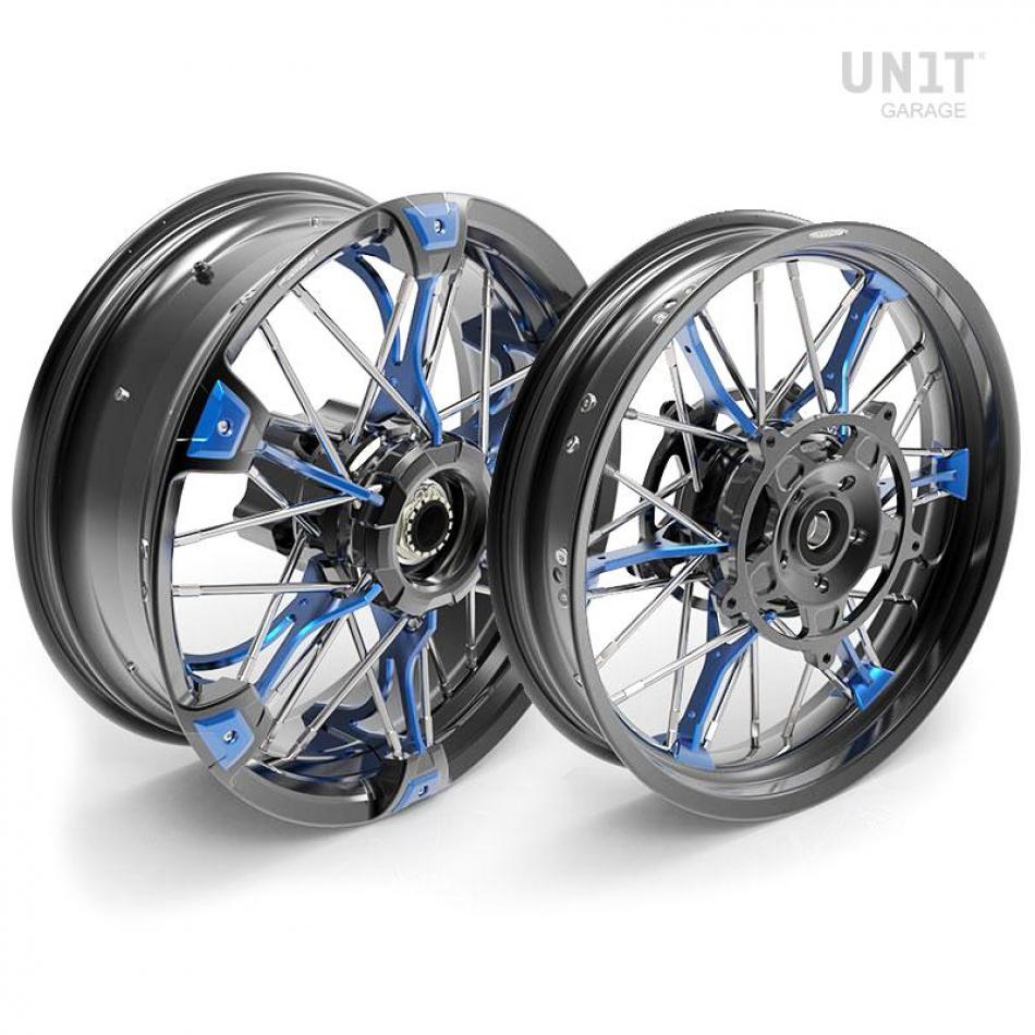 Paar NineT UrbanGS 24M9 SX-Spider Tubeless Speichenräder