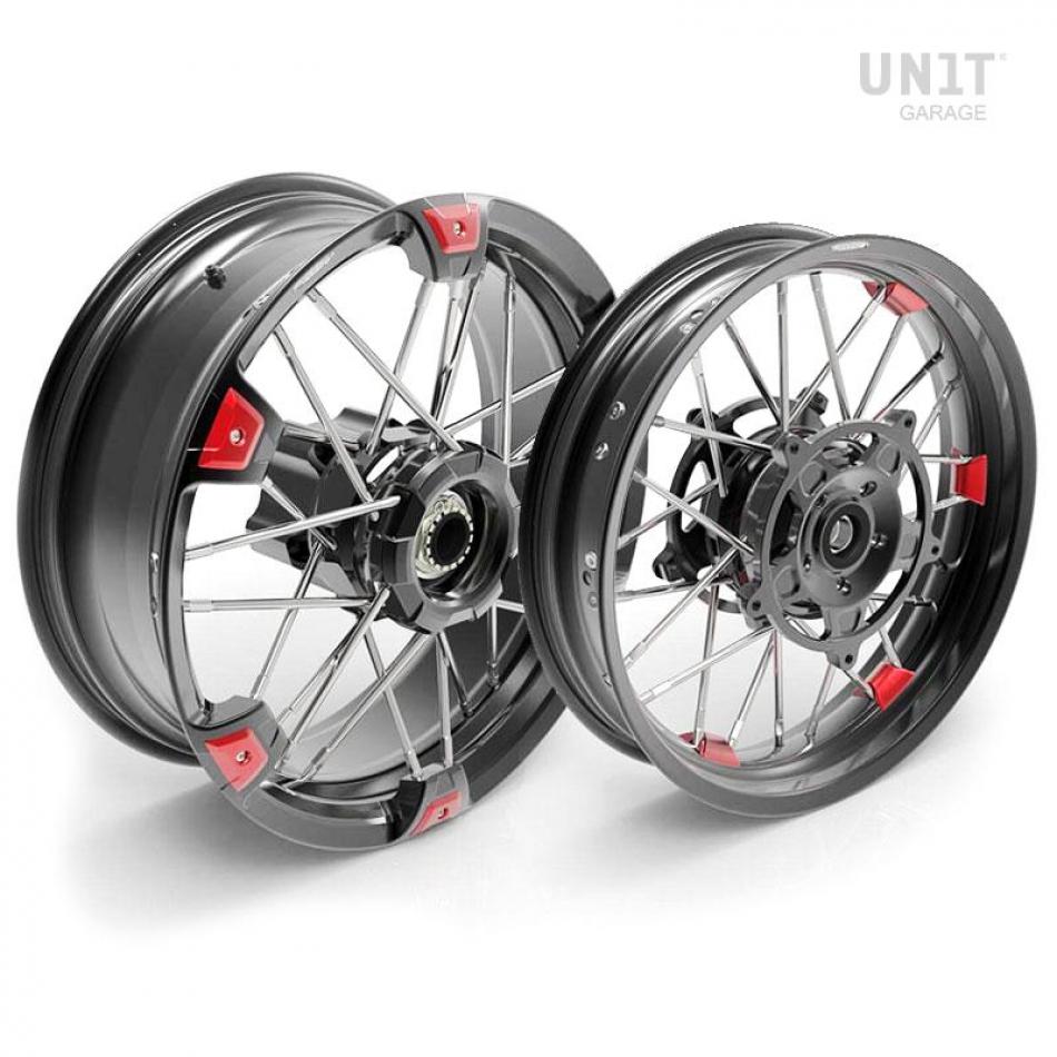 Paar NineT UrbanGS 24M9 SX Tubeless Speichenräder