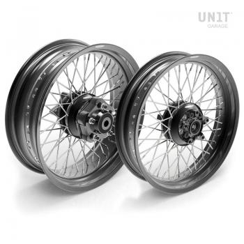 Paar Speichenräder Triumph T100 48M6