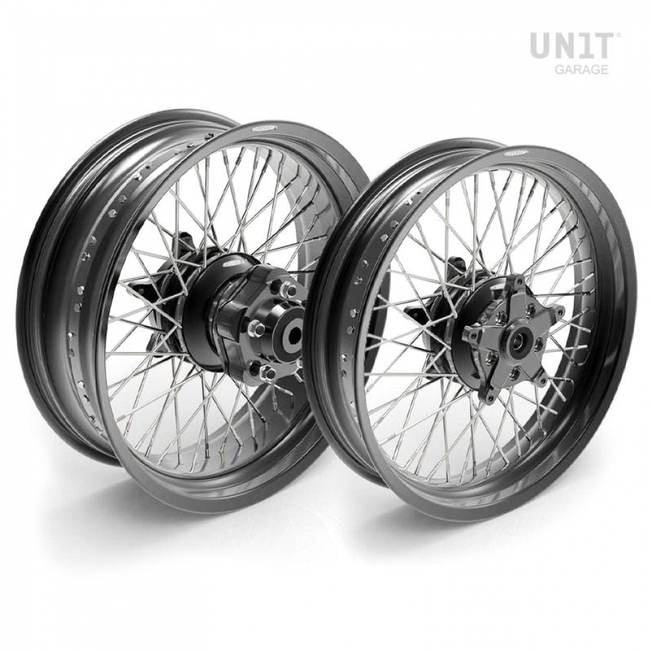 Paar Speichenräder Ducati Cafe Racer 800 48M6