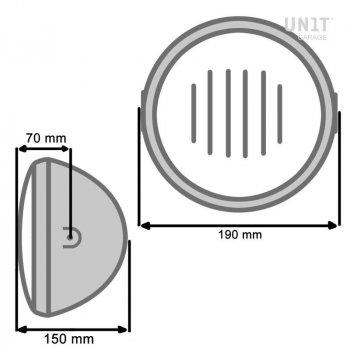 BASIC Frontscheinwerfer