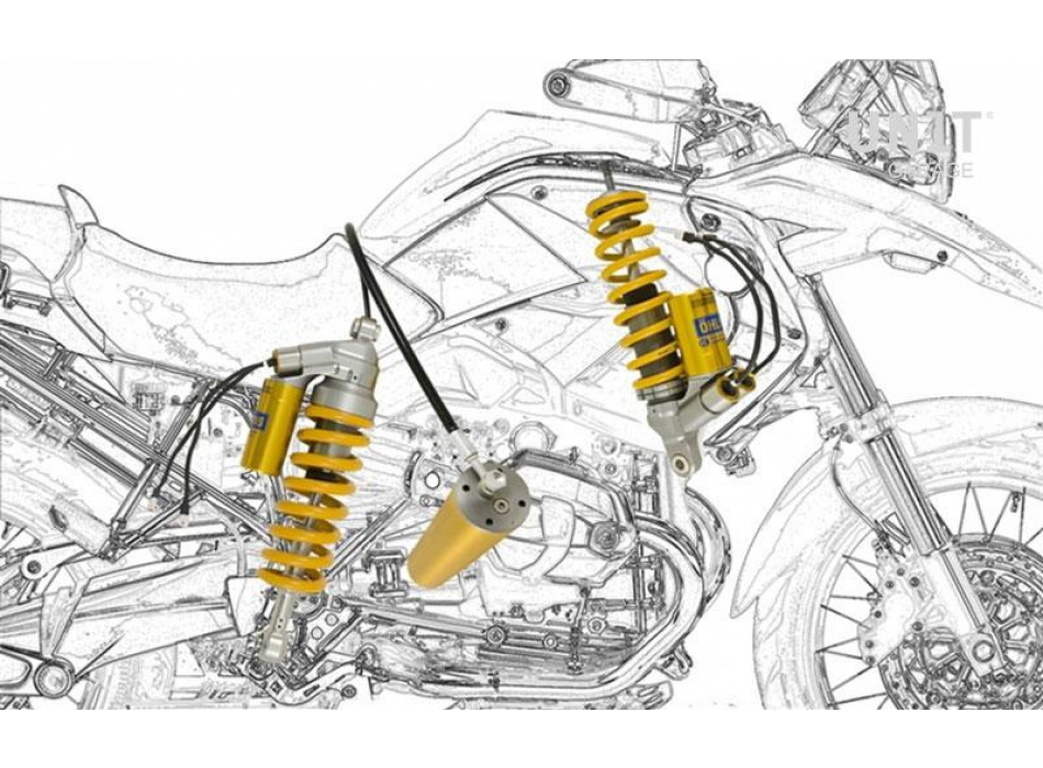 Stoßdämpferset BMW R 1200 GS ADV mechatronisches System OHLINS