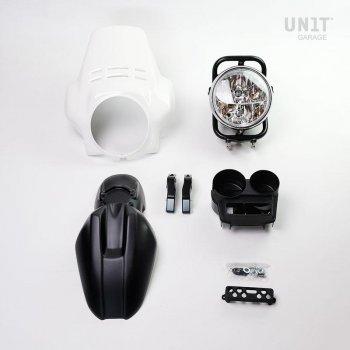 PRO FENOUIL Scheinwerfer Kit (mattschwarz)