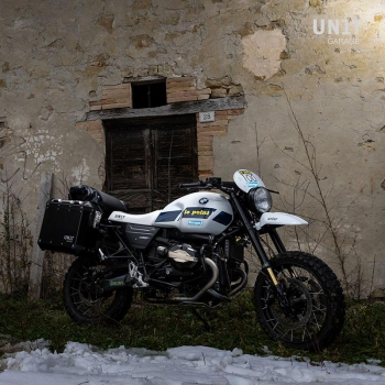 NineT PARIS DAKAR GR86 Kit mit Zubehör