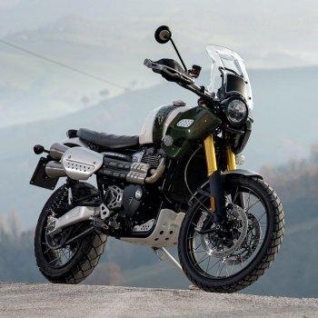 Triumph 1200XC & XE Schalldämpfer