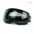 Schwarze Sonnenbrille mit Federn