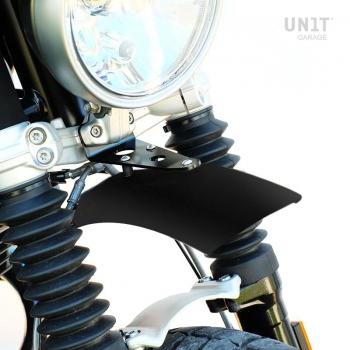 schwarzer Kotflügel vorne nineT Urban GS in Aluminium