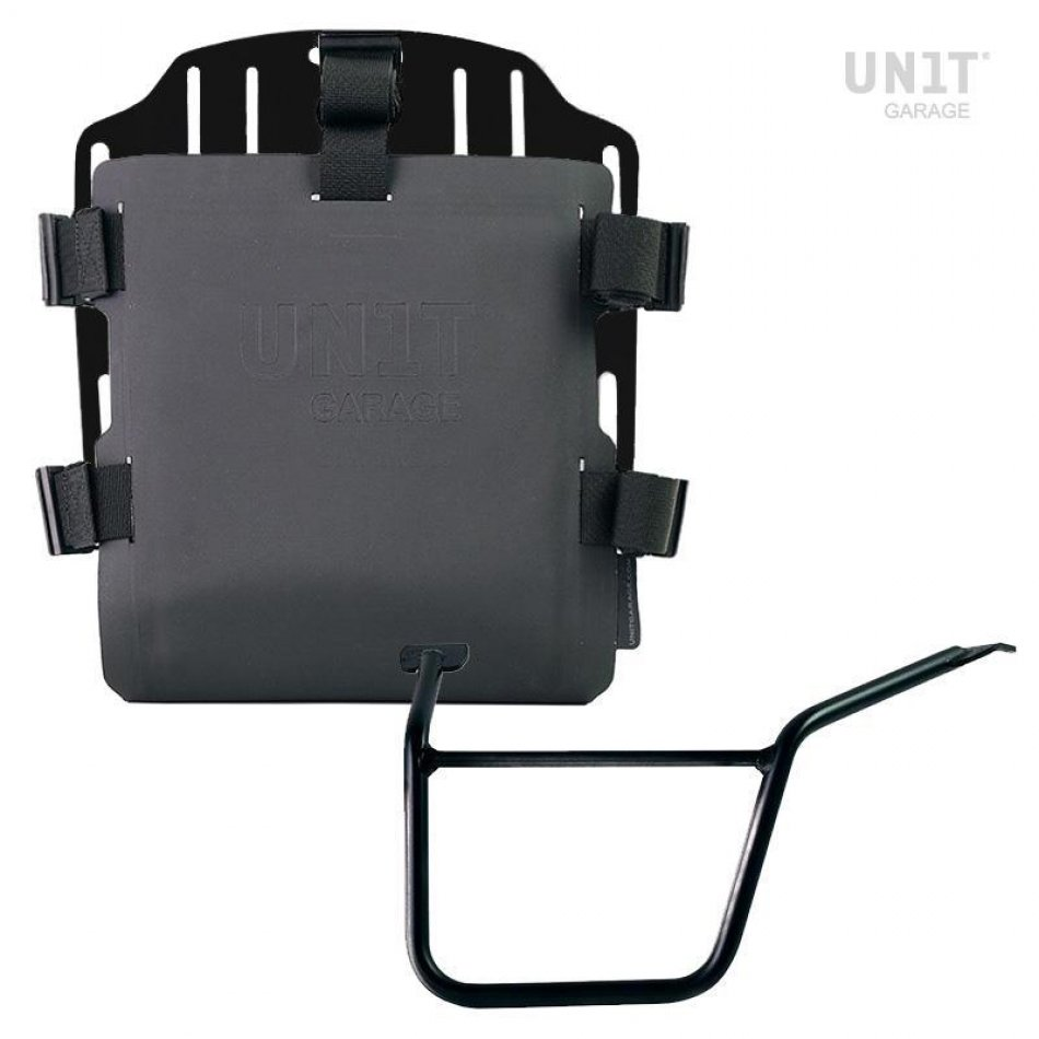 Aluminium-Taschenhalter mit verstellbarer Hypalon-Front und Schnellkupplung + Rahmen