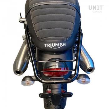 Gepäckträger hinten mit Beifahrersitz
