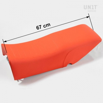 Sattel in Orange