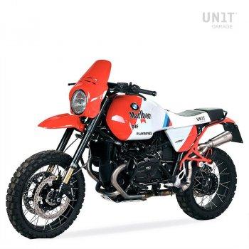 Soziussitz Sitzbank Paris Dakar GR86 aus Sky