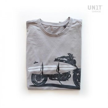 Unit Garage T-Shirt Grau