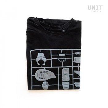 Unit Garage T-Shirt  Schwarz