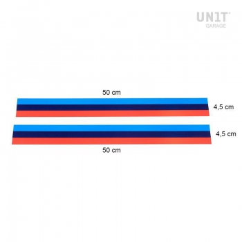 Ein Meter Motorsportaufkleber H9