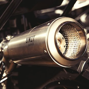 Unitgarage Exhaust for BMW R NineT